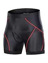 cheap -Men's Women's Cycling Shorts Summer Spandex Polyester Bike Padded Shorts / Chamois 3D Pad Quick Dry Breathable Sports Solid Color Black / Red / Grey / Black Mountain Bike MTB Road Bike Cycling
