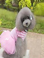 cheap -New striped dog skirt pet princess skirt