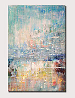cheap -Oil Painting Handmade Hand Painted Wall Art Abstract Sky BlueSeascape Landscape Home Decoration Decor Rolled Canvas No Frame Unstretched