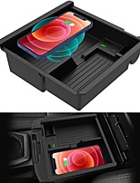 cheap -Car Qi Wireless Upgrades Wireless Charger/Center Console Organizer Tray for Toyota Tacoma 2016-2021 Wireless Phone Charging Pad Offroad TRD PRO Trail Truck Accessories
