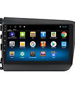 cheap -For Honda CIVIC 2012-2015 Autoradio Car Navigation Stereo Multimedia Car Player GPS Radio 9 inch IPS Touch Screen 1 2 3G Ram 16 32G ROM Support iOS Carplay WIFI Bluetooth 4G 2 Din