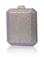 cheap -Women's Bags Polyester Alloy Evening Bag Glitter Glitter Shine Party / Evening Date Evening Bag Purple