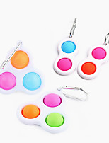 cheap -Squeeze Toy / Sensory Toy Push Pop Bubble Stress Reliever 2/4 pcs Portable Gift Stress and Anxiety Relief For Kid's Adults' Boys and Girls Home Christmas Gifts Work