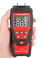 cheap -HABOTEST 0-99.9% Digital Wood Moisture Meter Wood Humidity Tester Hygrometer Timber Damp Paper Concreate Cement Detector Tester