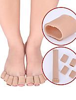 cheap -Breathable Fiber Silicone Finger Protector Toe Corns Split Toe Cover Toe Care Corns Tube S/M/L