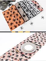 cheap -halloween table runner tablecloth fine linen printed flocking tablecloth creative halloween tablecloth desktop decoration