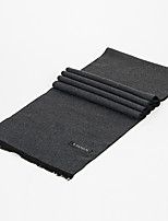 cheap -Men's Rectangle Scarf Casual Coffee Scarf Solid Colored