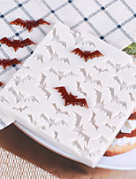 cheap -Bat Silicone Mold Halloween Cake Cake Decorating Tools Candy Clay Chocolate Gumpaste Moulds