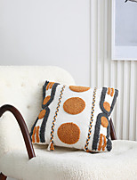 cheap -PillowCase Simple Modern Light Luxury Home Office PillowCase Cotton Tufted Embroidered PillowCase Cushion Cover Living Room Bedroom Sofa Cushion Cover