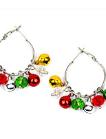 cheap -Women's Earrings Classic Bell Earrings Jewelry Silver / Gold For Christmas Street Gift Festival 1 Pair