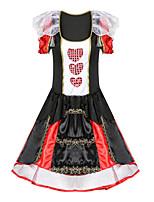 cheap -Witch Goddess Magic Women Cosplay Costume Adults' Women's Halloween Halloween Halloween Festival / Holiday Terylene Black Women's Easy Carnival Costumes Heart / Dress / Gloves / Headwear
