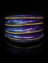 cheap -Women Ring Layered Purple Brass Ribbon Statement Artistic Unique Design 1pc / Women's