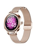 cheap -ZX10 Smartwatch Fitness Running Watch Bluetooth Pedometer Sleep Tracker Heart Rate Monitor Call Reminder Camera Control Step Tracker IP68 25mm Watch Case for Android iOS Women