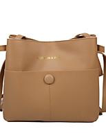 cheap -Women's Bags PU Leather Tote Shopping Daily Handbags Red-brown khaki Black Brown