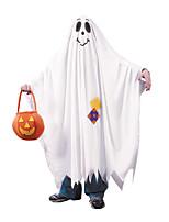 cheap -Ghost Pumpkin Cosplay Costume Halloween Props Kid's Boys' Halloween Halloween Halloween Festival / Holiday Terylene White Easy Carnival Costumes Geometic Pumpkin