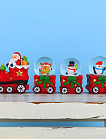 cheap -Christmas Crystal Ball Set Christmas Gifts Christmas Eve Gift Water Ball Decoration Crafts