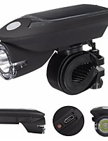 cheap -LED Bike Light LED Light Emergency Lights Front Bike Light LED Bicycle Cycling Waterproof Rotatable New Design Easy Carrying Rechargeable Lithium-ion Battery 240 lm Built-in Li-Battery Powered Solar