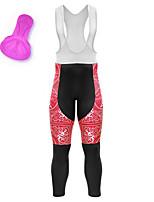 cheap -21Grams Women's Cycling Bib Tights Bike Bib Tights Quick Dry Moisture Wicking Sports 3D Red Mountain Bike MTB Road Bike Cycling Clothing Apparel Bike Wear / Athleisure