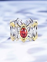 cheap -Ring Mismatched Gold-Red Copper Silver Plated Artistic Fashion Punk 1pc Adjustable / Women's / Open Cuff Ring / Open Ring / Adjustable Ring