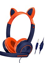 cheap -AKZ-024 Gaming Headset 3.5mm Audio Jack PS4 PS5 XBOX Ergonomic Design Retractable with Volume Control for Apple Samsung Huawei Xiaomi MI  Everyday Use PC Computer Gaming