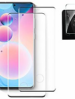 """cheap -[2+1] tempered glass screen protector for samsung galaxy s21 ultra 5g + camera lens protector [full coverage] [9h hardness] [anti scratch] [fingerprint support] hd clear & no bubble (6.8"""")"""