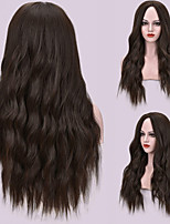 cheap -Synthetic Wig Deep Wave Middle Part Wig Long A1 A2 A3 A4 Synthetic Hair Women's Cosplay Soft Party Brown Blonde