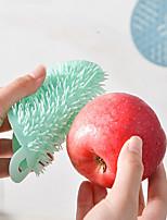 cheap -1PC Silicone Cleaning Brush Dishwashing Fruit Vegetable Pot Pan Brushes