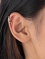 cheap -Women's Clip on Earring Mismatched Tree of Life Statement Vintage Modern Korean Earrings Jewelry Gold For Party Gift Daily Prom Club 1pc