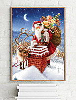 cheap -DIY 40D Diamond Painting Wall Home Decor Decoration Kits Christmas Santa Claus for Adults Kids