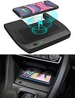 cheap -Car Qi Wireless Charger for Honda Civic 2016-2021 Wireless Charging Pad for 10th Honda Civic Hatchback Si Coupe Type R Accessories 2021 2020 2019 2018 2017 2016