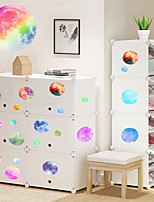 cheap -A Set Of 19pcs Of Self-adhesive Luminous Wall Stickers On The Wall Of The Luminous Moon Children's Room