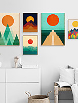 cheap -Wall Art Canvas Prints Painting Artwork Picture Landscape Abstract Home Decoration Decor Rolled Canvas No Frame Unframed Unstretched