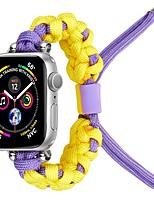 cheap -Smart Watch Band for Apple iWatch 1 pcs Weave Bracelet Fabric Replacement  Wrist Strap for Apple Watch Series 7 / SE / 6/5/4/3/2/1