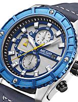 cheap -MEGIR Men's Quartz Watches Analog Quartz Sporty Outdoor Calendar / date / day Chronograph Noctilucent / Two Years