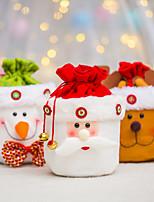 cheap -Christmas Decorations Old Man Snowman Elk Candy Gift Bag Christmas Eve Apple Bag Gift Bag
