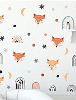 cheap -cartoon fox rainbow children bedroom porch home wall background beautification wall sticker self-adhesive