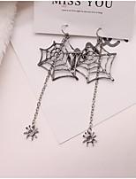 cheap -Women's Earrings Classic Spiders Stylish Earrings Jewelry Black For Halloween Street 1 Pair
