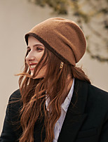 cheap -Simple Elegant Wool Hats with Color Block 1pc SchoolWear / Casual Headpiece