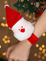 cheap -Christmas Decoration Pat Pat With The Same Gift Deer Doll Elk Pat Ring Bracelet Christmas Pat Ring
