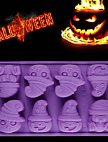 cheap -New In Practical Durable Creative Happy Halloween Silicone Pumpkin Cake Silicone Mold Kitchen Bake Tools Drop Shipping