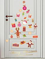 cheap -christmas children's room cartoon candy wall window glass decoration wall sticker