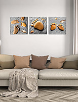 cheap -3 Panels Wall Art Canvas Prints Painting Artwork Picture Still Life Tennis Home Decoration Dcor Rolled Canvas No Frame Unframed Unstretched