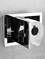 cheap -Toilet Paper Holder New Design / Adorable / Lovely Contemporary / Modern Stainless Steel Bathroom / Hotel bath Wall Mounted