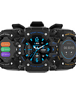 cheap -iMosi LC11 Smartwatch Fitness Running Watch Bluetooth Pedometer Heart Rate Monitor Sedentary Reminder Long Standby Media Control Message Reminder IPX-6 49mm Watch Case for Android iOS Men Women
