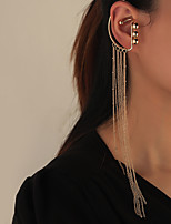 cheap -Women's Ear Cuff Chandelier Starfish Unique Design Vintage Modern Cute Sweet Earrings Jewelry Gold For Party Gift Daily Prom Club 1pc
