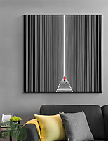 cheap -Wall Art Canvas Prints Painting Artwork Picture Abstract Black White People Home Decoration Dcor Rolled Canvas No Frame Unframed Unstretched
