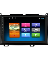 cheap -For Toyota Sienna 2010-2014 Android 10.0 Autoradio Car Navigation Stereo Multimedia Car Player GPS Radio 9 inch IPS Touch Screen 1 2 3G Ram 16 32G ROM Support iOS Carplay WIFI Bluetooth 4G 2 Din