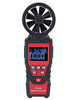cheap -HT625B Handheld Digital Anemometer Air Flow Wind Speed Gauge Temperature Humidity Measurement Instrument With Backlight Display