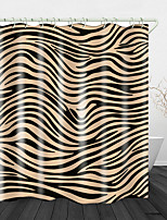 cheap -Water Stream Streaks Printed Waterproof Fabric Shower Curtain Bathroom Home Decoration Covered Bathtub Curtain Lining Including hooks.