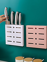 cheap -Knife Rack Wall Mounted Knife Holder Knife Stand Punch Free Knife Rack Kitchen Storage Rack Kitchen Accessories Organizer